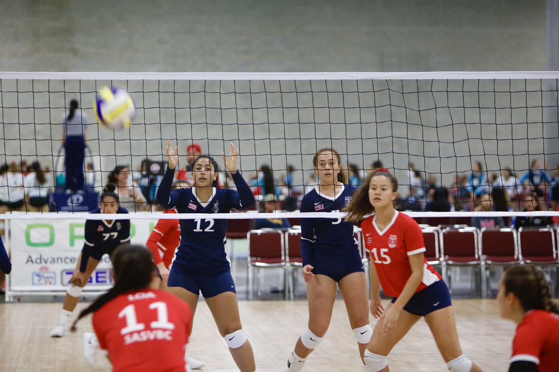 Spike And Serve Volleyball Club Volleyball Sasvbc
